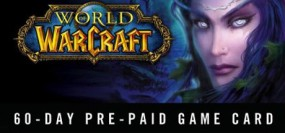 World of Warcraft 60 Dní předplacená karta