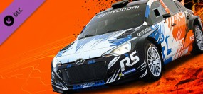 DiRT 4 - Hyundai R5 rally car