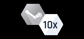 10x Náhodný Steam klíč - SILVER