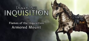 Dragon Age: Inquisition Flames of the Inquisition Armored Mount