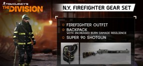 Tom Clancy's The Division - N.Y. Firefighter Gear Set
