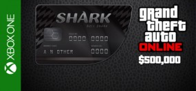 Grand Theft Auto V Online Bull Shark Cash Card 500,000$ Xbox One
