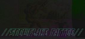 //SNOWFLAKE TATTOO//