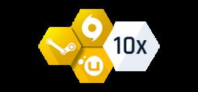 10x Náhodný klíč GOLD
