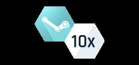 10x Náhodný Steam klíč - PLATINUM