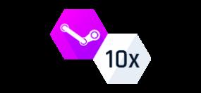 10x Dobrodružný náhodný Steam klíč