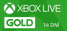 Microsoft Xbox Live Gold členství 14 dní - Trial
