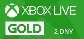 Microsoft Xbox Live Gold členství 2 dny - Trial