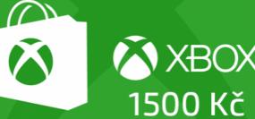 Microsoft Xbox Live Předplacená dárková karta 1500 Kč
